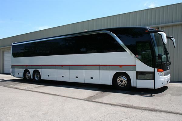 Tulsa 56 Passenger Charter Bus